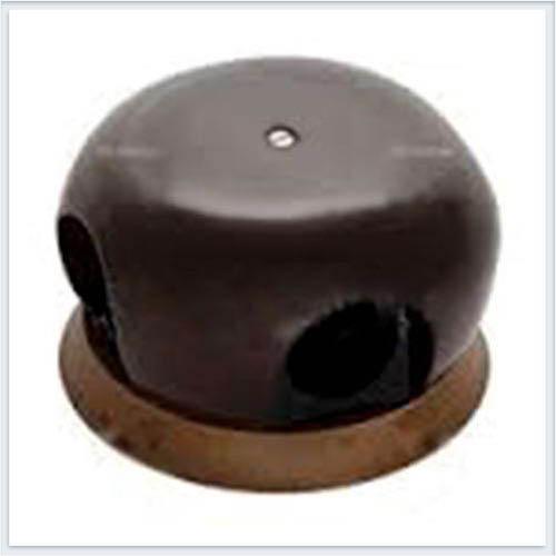 Bironi распределительная коробка фарфор коричневый 86мм B2-521-02/18