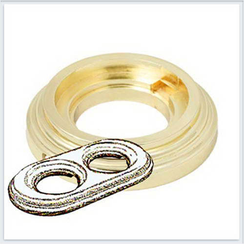 Bironi Рамка 2-х постовая золото BF1-620-31
