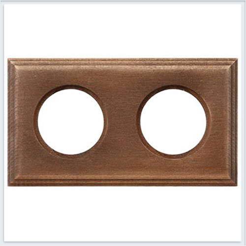 Bironi рамка двухместная квадрат, винтаж Коллекция шедель BF4-620-18