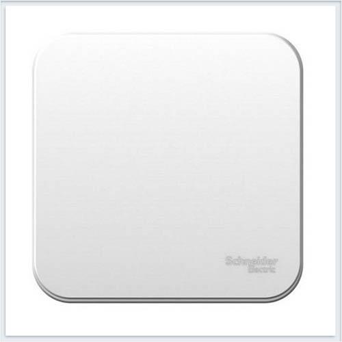 Blanca Белый Выключатель 1-клавишный, 10А, 250B