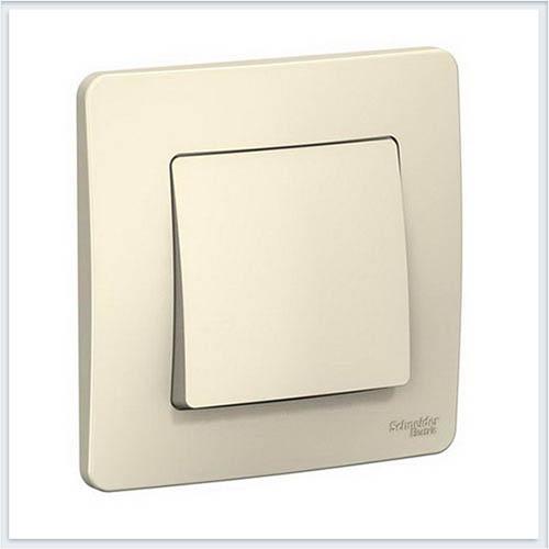 Blanca Молочный Выключатель 1-клавишный, 6А, 250B
