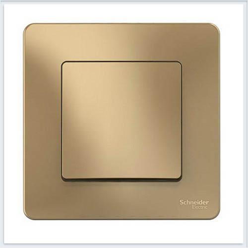 Blanca Титан Выключатель 1-клавишный, 10А, 250B