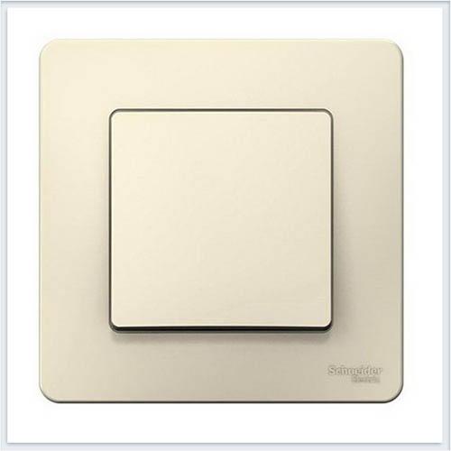 Blanca Молочный Переключатель 1-клавишный, 10А, 250B
