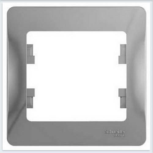 Рамка 1-я Glossa Алюминий GSL000301