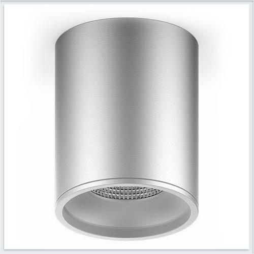 Светильник накладной HD003 12W хром сатин