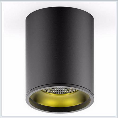 Светильник накладной HD008 12W черный золото