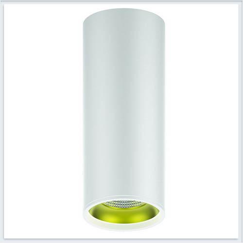 Светильник накладной HD012 12W белый золото
