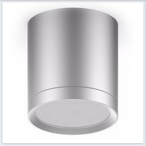 Светильник накладной с рассеивателем HD018 6W хром сатин