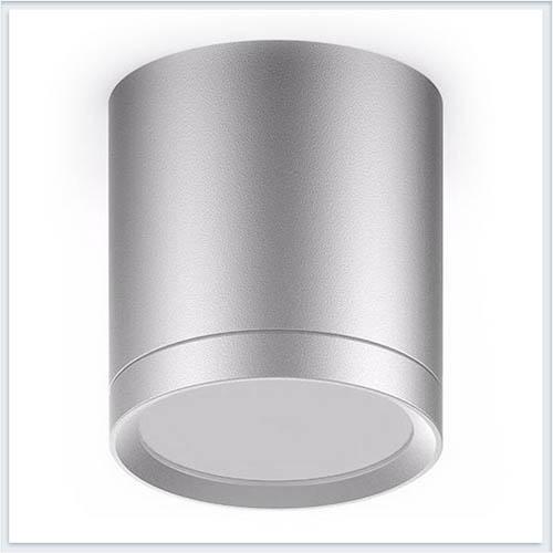 Светильник накладной с рассеивателем HD019 6W хром сатин