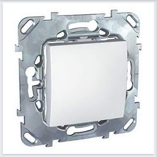 Выключатель 1-клавишный цвет Белый Schneider-Electric Unica - MGU5.201.18ZD