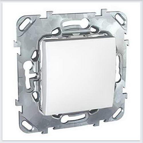 Переключатель 1-клавишный цвет Белый Schneider-Electric Unica - MGU5.203.18ZD