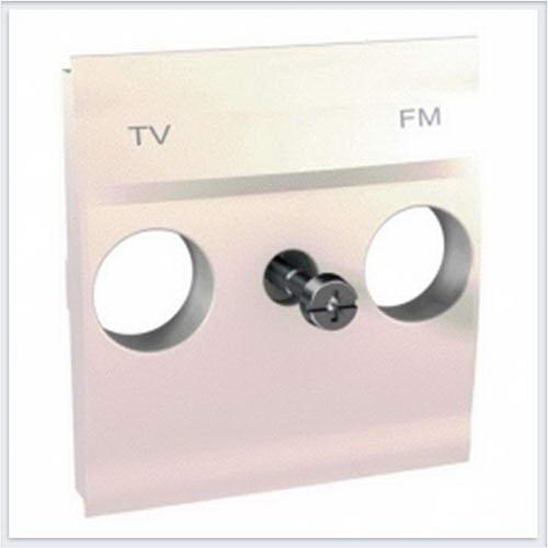 Накладка розетки TV-FM цвет Бежевый Schneider-Electric Unica - MGU9.440.25