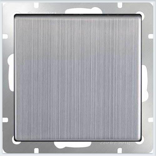 Werkel WL02-SW-2G-2W /Выключатель двухклавишный проходной глянцевый никель