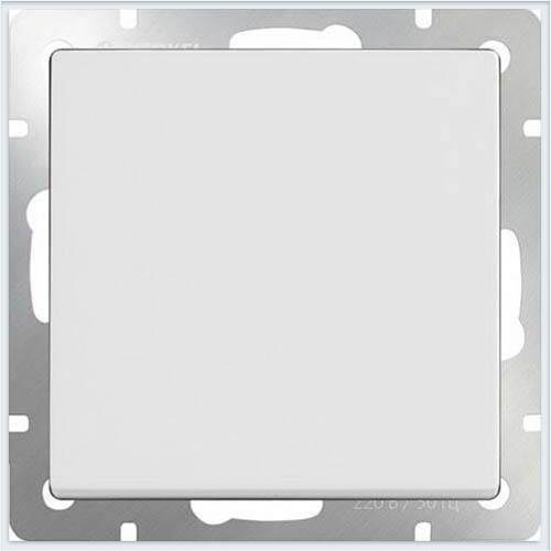 Werkel WL01-SW-1G-2W Выключатель одноклавишный проходной белый