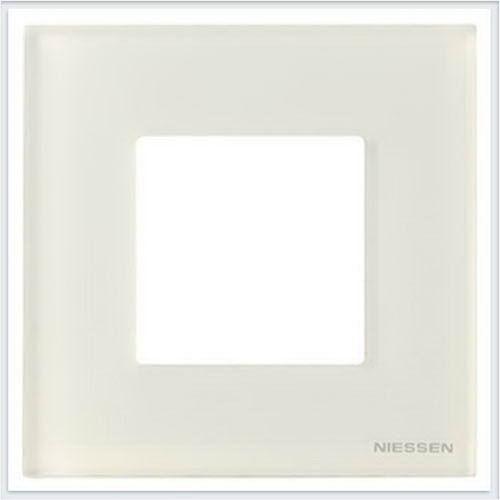 ABB Niessen Zenit - Niessen Zenit рамки - Рамки zenit стекло белое - N2271 CB