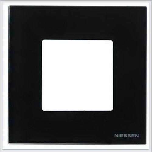 ABB Niessen Zenit - Niessen Zenit рамки - Рамки zenit стекло черное - N2271 CN