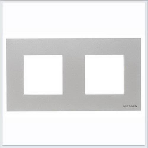 ABB Niessen Zenit - Niessen Zenit рамки - Рамки zenit серебро - N2272 PL
