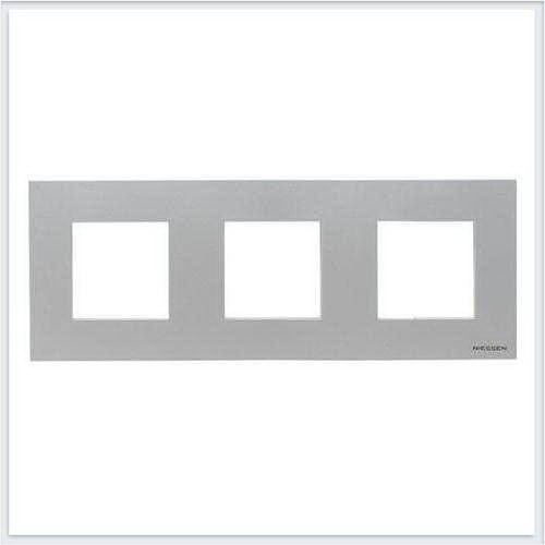 ABB Niessen Zenit - Niessen Zenit рамки - Рамки zenit серебро - N2273 PL