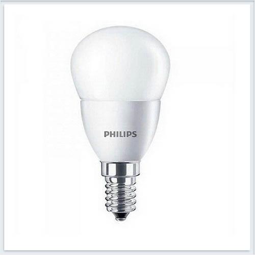 Лампа светодиодная Philips ESS Прожектор светодиодный Philips Lustre 6.5W E14 4000K P48 FR 600lm - купить лампу