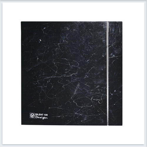 Soler Palau Вентилятор накладной SILENT-100 CRZ MARBLE BLACK DESIGN-4C