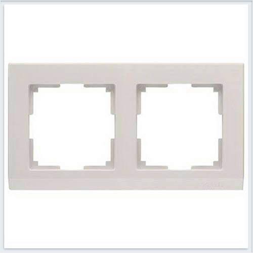 Werkel WL04-Frame-02-ivory Рамка на 2 поста слоновая кость