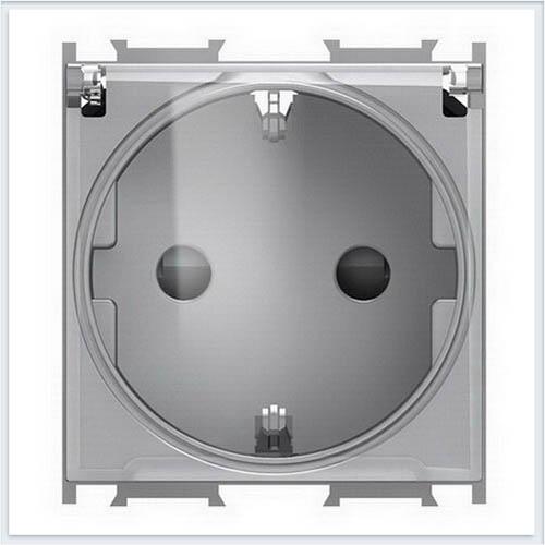 TEM розетка schuko+ks+крышка 2p+e 16a 250v~ 2m st VM11ST