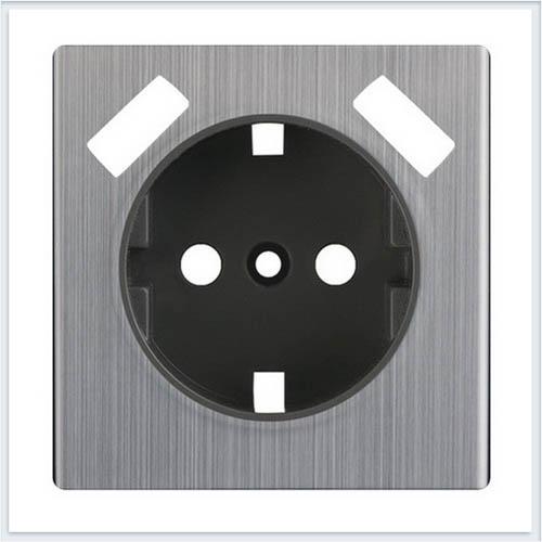 Werkel WL02-USB-CP Накладка для USB розетки глянцевый никель