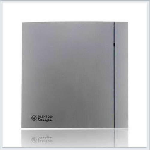Soler Palau Тихий накладной вентилятор SILENT-200 CZ SILVER DESIGN-3C Вентилятор