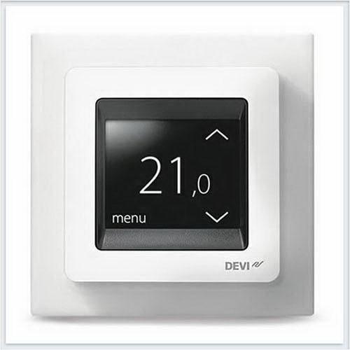 Терморегулятор Devi Devireg Touch с комбинацией датчиков, белый Арт. 140F1064