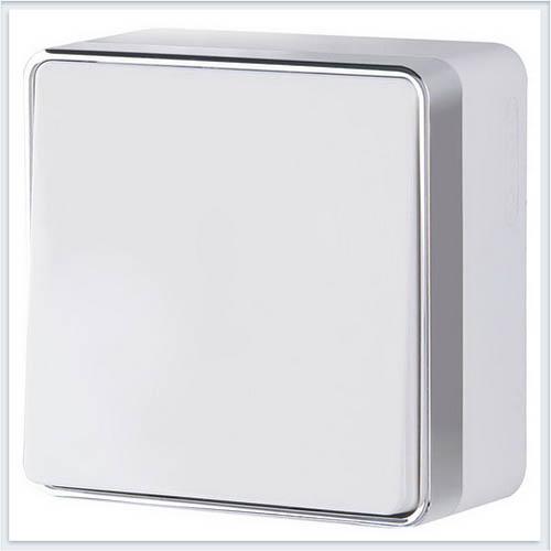 Werkel WL15-01-01 Выключатель одноклавишный Gallant белый