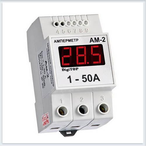 Амперметр, Ам-2, Измерительные приборы, Амперметры и вольтметры DigiTOP
