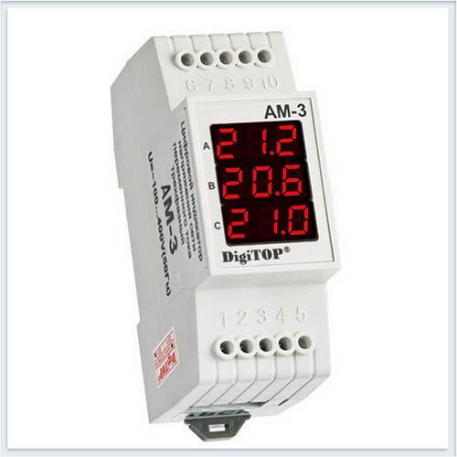 Амперметр, Ам-3, Измерительные приборы, Амперметры и вольтметры DigiTOP