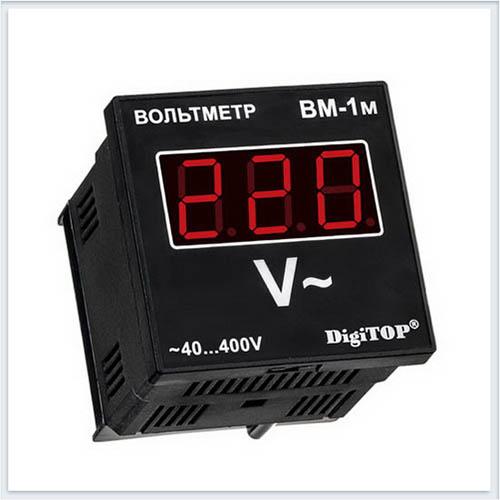 Вольтметр переменного тока, Вм-1м, Измерительные приборы, Амперметры и вольтметры DigiTOP