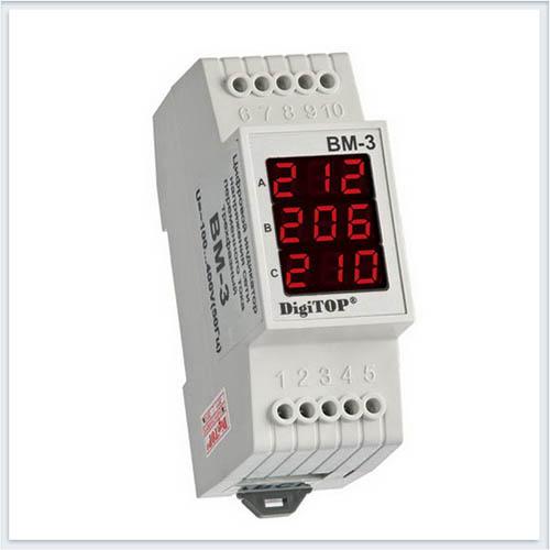 Вольтметр переменного тока, Вм-3, Измерительные приборы, Амперметры и вольтметры DigiTOP
