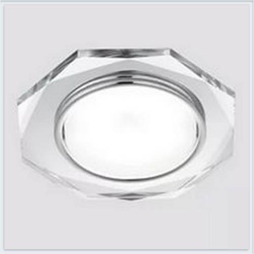 Светильник GX53 G8020 CH хром-прозрачный