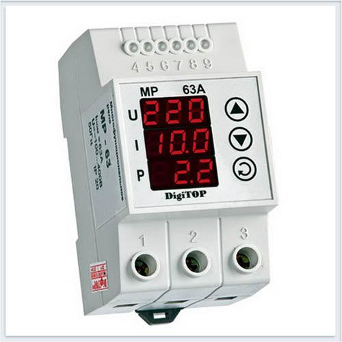 Реле напряжения, MP-63, Измерительные приборы, Реле напряжения DigiTOP