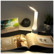 Настольный светодиодный светильник Orbit белый