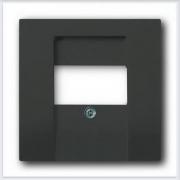 Розетки и выключатели ABB - Розетки и выключатели Basic 55 - ABB Basic 55 Шато черный - 2539-95-507