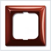 Фойе — красный Рамка 1-ая ABB Basic 55 2511-97-507