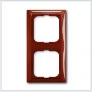 Фойе — красный Рамка 2-ая ABB Basic 55 2512-97-507