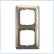 Мейзон — бежевая Рамка 2-ая ABB Basic 55 2512-99-507