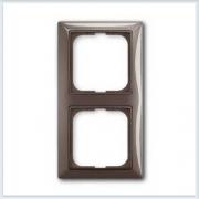 Энтре — серый Рамка 2-ая ABB Basic 55 2512-91-507