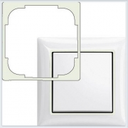 Вставка декоративная белая в рамку ABB Basic 55 2516-94-507