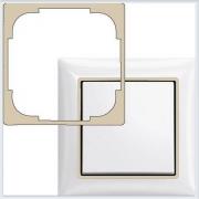 Вставка декоративная бежевая в рамку ABB Basic 55 2516-92-507