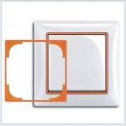 Оранжевый Вставка декоративная в рамку ABB Basic 55 2516-904-507