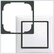 Вставка декоративная, серия Basic 55, цвет шато — чёрный ABB Basic 55 2516-95-507