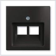 Розетки и выключатели ABB - Розетки и выключатели Basic 55 - ABB Basic 55 Шато черный - 1803-02-95-507