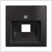 Розетки и выключатели ABB - Розетки и выключатели Basic 55 - ABB Basic 55 Шато черный - 1803-95-507