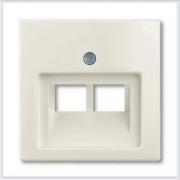 Розетки и выключатели ABB - Розетки и выключатели Basic 55 - ABB Basic 55 Шале белый - 1803-02-96-507