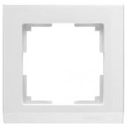 Werkel WL04-Frame-01-white Рамка на 1 пост белый
